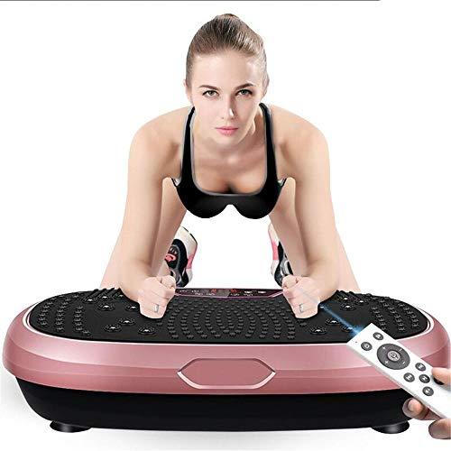 Placa de vibración de la máquina Power Gym Las placas de vibración de energía entrenador físico máquina vibradora oscilante Plataforma de todo el cuerpo masajeador Sacudiendo Formadores de vibración