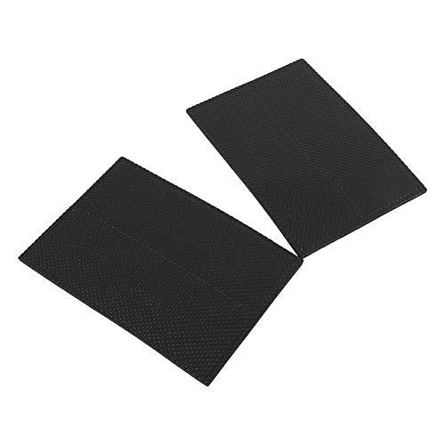 Almohadillas antideslizantes de goma protectores de suelo autoadhesivos negros muebles sofá silla de escritorio pies de goma protectores de suelo 4 piezas