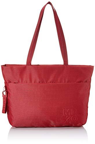Mandarina Duck MD 20, Bolsa de mensajero para Mujer, Rojo (Flame Scarlet), 10x10x10 Centimeters (W x H x L)