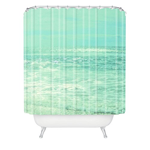 Deny Designs Lisa Argyropoulos Where Ocean Meets Sky Shower Curtain, 69