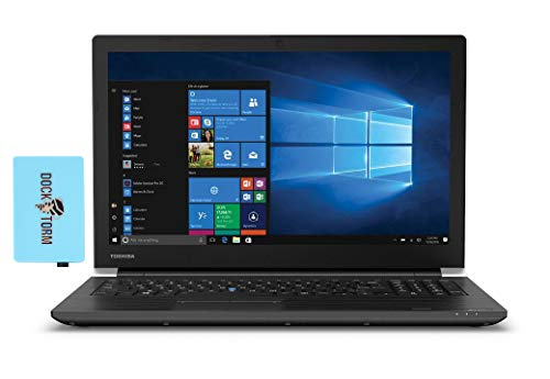 "Toshiba Tecra A50-J Home and Business Laptop (Intel i7-1165G7 4-Core, 64GB RAM, 1TB PCIe SSD, Intel Iris Xe, 15.6"" Full HD (1920x1080), Wifi, Bluetooth, Webcam, 3xUSB 3.1, 1xHDMI, Win 10 Pro) with Hub"