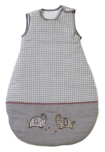 roba Schlafsack, 70cm, Babyschlafsack ganzjahres/ganzjährig, aus atmungsaktiver Baumwolle, Schlummersack unisex, Kollektion 'Jumbotwins'
