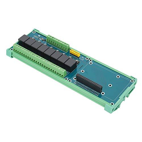 Hochwertiger 8-Kanal-SPS-Controller 40-poliges GPIO-Erweiterungskarten-Erweiterungsmodul Kompatibel mit 4B / 3B +
