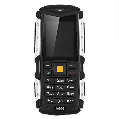 Rugged Mobile Phone AGM M1 IP68 Dual-IMEI 3G Battery 2570mAh 2MP ...