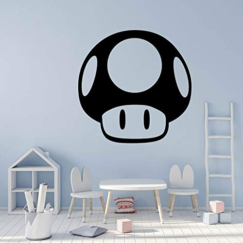 AKmene Cute cartoon mushroom applique design cartoon sticker home room decoration 42x46cm