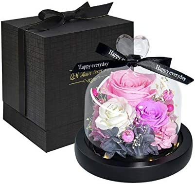 Artificial 5 ☆ popular Over item handling ☆ and Dried Flower Beauty Valen Beast Preserved The