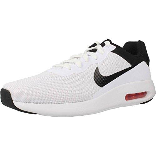 Nike Herren 844874 Sneaker, Mehrfarbig Blanco Negro, 44.5 EU
