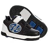 Heelys Plus Skateschuhe für Jungen,Schwarz,Weiss,Blau,EU 35