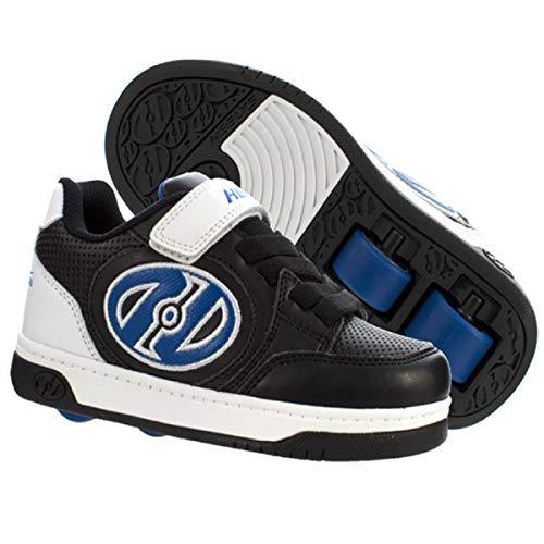 Heelys Plus X2 | Rollschuhe für Jungen | (38 EU, Black/White/Blue)