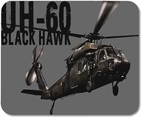 Aikul Mousepad Utility Black Hawk Helicopter Night Seahawk Pave Mouse Mat 9 5 x7 9 Mouse Pad product image