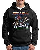 TShirt-People Ghost N Goblins Arcade Gamer - Sudadera con capucha para hombre negro XXXXL