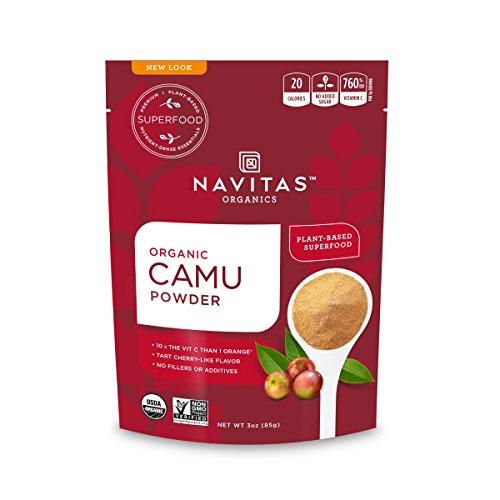 Navitas Organics Camu Camu Powder, 3 oz. Bag, 17 Servings — Organic, Non-GMO, Gluten-Free