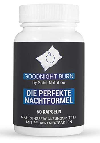 Saint Nutrition Goodnight F-Burn Kapseln | für die Nacht | Männer | Frauen | schnell | Vegan | Hochdosiert
