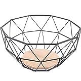 Cestello per frutta Chefarone - fruttiera da per avere più spazio sul piano di lavoro - feffetto decorativo per lo sguardo sul bancone della cucina (26 x 26 x 12 cm)