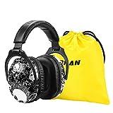 [Verbesserte] ZOHAN 030 Kinder Gehörschutz, Kind Lärmschutz Kopfhörer Verstellbare Faltbare Ohrenschützer für Schule Konzert Festival mit SNR 27dB Hörschutz (Schädel)