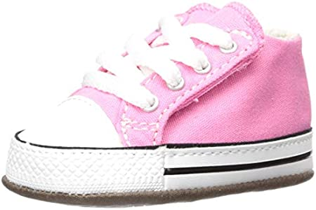 Converse Chuck Taylor All Star Cribster Canvas Color, Sneaker Unisex niños, Pink/Natural Ivory/White, 17 EU