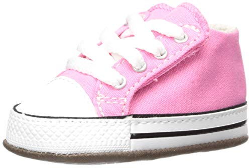 Converse Chuck Taylor all Star CRIBSTER Canvas Color-Mid, Scarpe da Ginnastica Unisex-Bambini, Pink/Natural Ivory/White, 20 EU