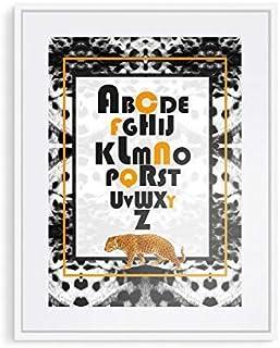 Lámina personalizada 'Fantasía de Leopardos No. 2' (sin marco)