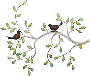 """Wanddeko """"Ast mit Vögeln"""""""