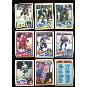 1984 Topps Hockey Complete 165 Card Set, Steve Yzerman, PAT Lafontaine Rookie