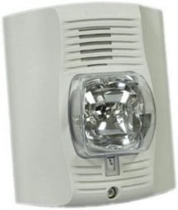 SYSTEM SENSOR Outlet sale feature P4WP Over item handling ☆ unmarked white four-wire horn strobe w