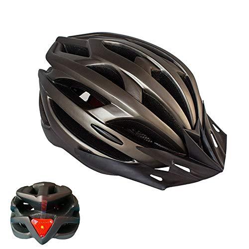 Feicuan Fahrradhelm Herren Damen - 52-61cm MTB Helm mit Sonnenblende Radhelm Einstellbar Stirnband für Straße Berg Fahrrad Roller Skateboard Erwachsene