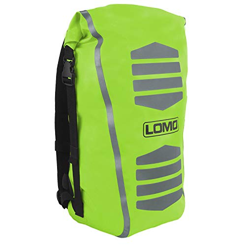 Lomo 30L Waterproof Hi Viz Cycling Dry Bag Rucksack