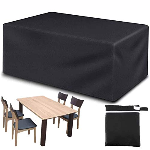 SANBAO Garden Furniture Covers, Protective Cover for Garden Furniture,heavy Duty Waterproof Rip Proof Oxford Fabric Patio Table Cover, Anti-Uv,for Sofas and Chairs