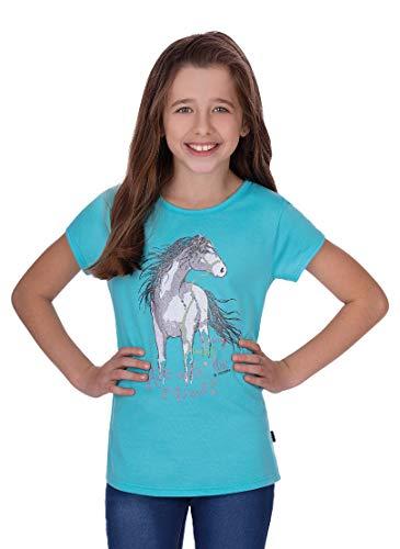 Trigema Mädchen 236248119 T-Shirt, Mint, 140
