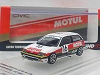 INNO 1/64 ホンダ シビック Si E-AT Gr.A #16 ワンダーシビック 無限 モチュール JTC ツーリングカー選手権 イノモデル Honda Civic