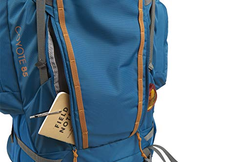 Kelty Coyote 60-105 Liter Backpack, Men's and Women's (2020 Update) - Hiking, Backpacking, Travel Backpack, Burnt Olive, 85