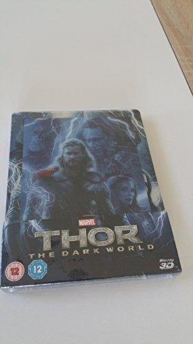 Thor 2 BD 3D Lenticular steelbook [Blu-ray] [UK Import]