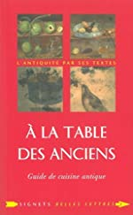 A la table des anciens de Laure de Chantal