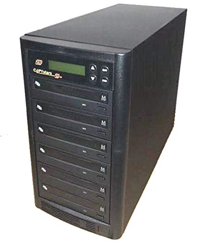 Copystars DVD Duplicator CD DVD-Copier 24x Sata Writer Burner 1-5 Copy Recorder Tower