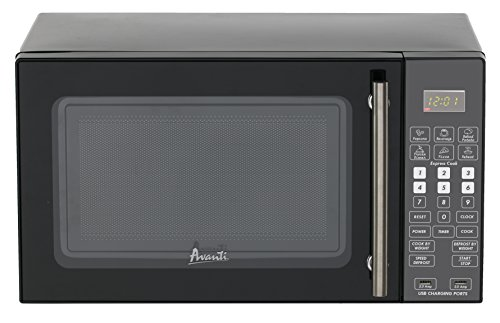 Avanti Microwave with USB Charge Ports