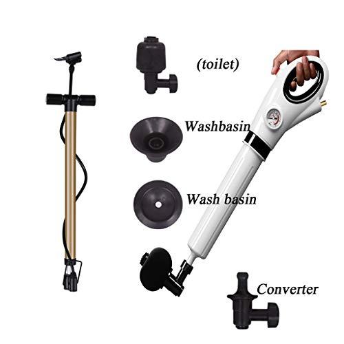 sencilla herramienta Desatascador tuberias manual de alta succi/ón Desatascador de desag/üe con potente /émbolo de caucho Nirox Desatascador Ventosa 2x Desatascador /émbolo de inodoro
