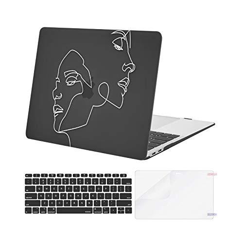 funda dura macbook air 13 de la marca MOSISO