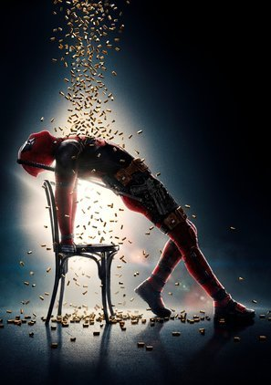 Deadpool 2 – Ryan Reynolds – Textlos Film Poster Plakat Drucken Bild - 43.2 x 60.7cm Größe Grösse Filmplakat Flashdance