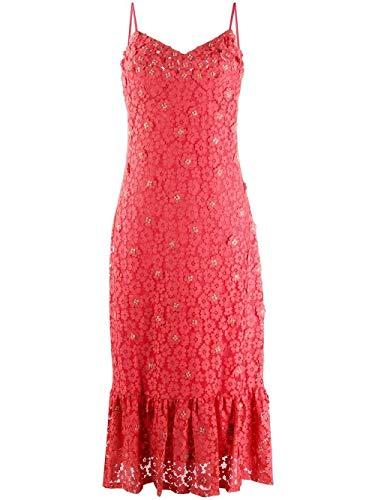 Michael Kors Luxury Fashion Damen MS08ZMEDUX624 Rot Polyester Kleid   Frühling Sommer 20