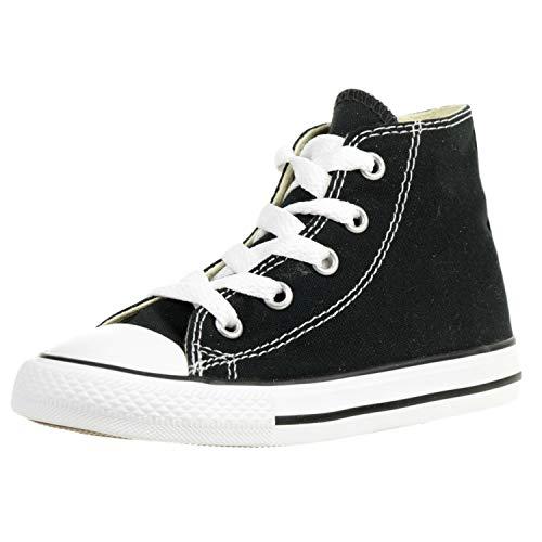 Converse Chuck Taylor All Star High, Zapatillas Unisex bebé, Negro (Noir), 21 EU