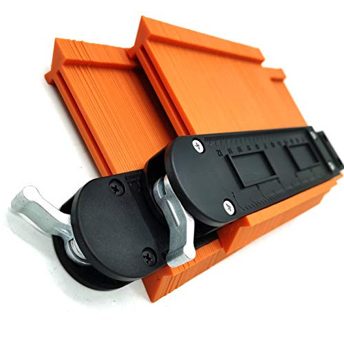 Contour Gauge With lock- 2 Wide Pieces Pack - Contour Gauge Profile Tool - 10
