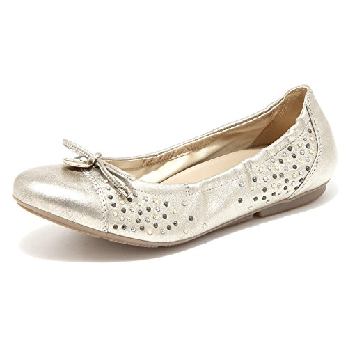 Hogan 86560 Ballerina Wrap 144 Charm Borchie Scarpa Donna Shoes Women [35]