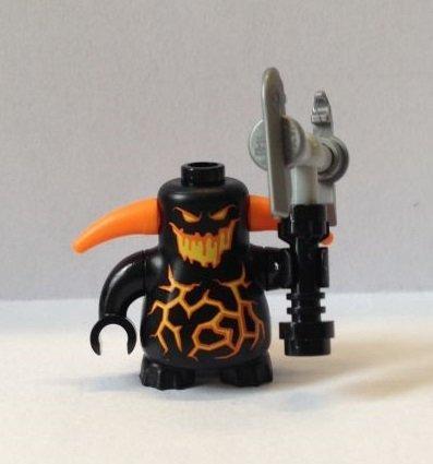Nexo Knights Lego Figur Wusel (Schwarz) (Set 70323)
