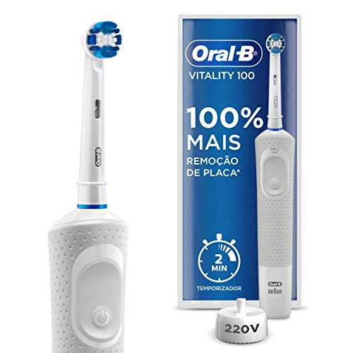 Escova Elétrica Oral-B Vitality Precision Clean - 110V, Oral-B