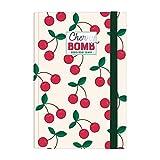 Legami - Agenda Giornaliera 16 Mesi 2020/2021 Medium, Cherry Bomb - 12 x 18 cm