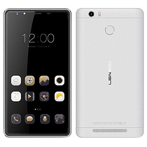 Leagoo Shark 1Mobiltelefon, 4G, LTE 2.5D Display 6,0  Zoll, FHD, Android 5.1,3GB, 16GB, 64bit MTK6753 Octa Core, 13,0MP, Touch ID