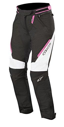 Preisvergleich Produktbild Alpinestars Motorradhose Stella Raider Drystar Pants Black White Fuchsia,  Schwarz / Weiss / Fuchsia,  M