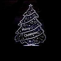 クリスマスギフト3Dナイトライト3Dカラフルな小さなテーブルランプ