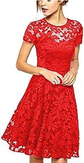 FEIKONGJIAN Casual A Line Dress For Women