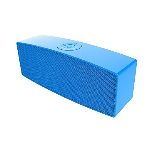 Altavoz Bluetooth, Bluetooth 5.0, Altavoz Bluetooth Portátil, Estéreo, Exterior, con Audio De Alta Definición Y Función Manos Libres, Antena Incorporada Radio FM, USB, Llamada Manos Libres Y TF